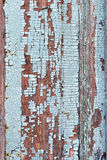 Texture of old painted in blue wood. Background Royalty Free Stock Photography