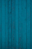 Texture of old painted boards Stock Image