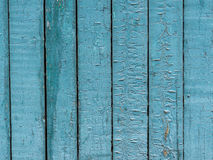 Texture of the old painted fence Royalty Free Stock Photos
