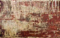 Texture of old painted plywood Stock Photos