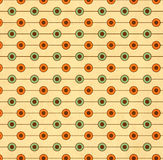 Texture of the old paper with geometric ornamental pattern Royalty Free Stock Image
