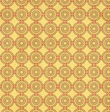 Texture of the old paper with geometric ornamental pattern Stock Images