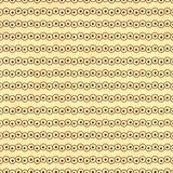 Texture of the old paper with retro geometric ornamental pattern Stock Photography