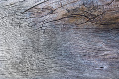 Texture of old plank. A part of wooden table in the garden, texture of old plank as background Royalty Free Stock Photos