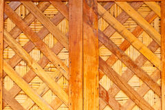 Texture of old plank wood wall Royalty Free Stock Photos