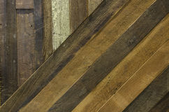 Texture of old plank wood wall Stock Photos