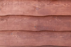 Texture of the old planks mahogany Royalty Free Stock Images