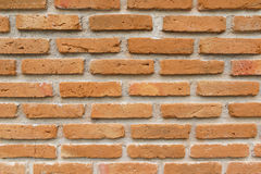 Texture of Old Red Brick Wall Background Royalty Free Stock Photos