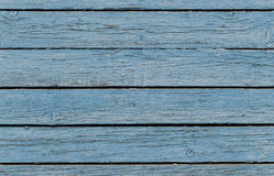 Texture of old rough blue fence royalty free stock images