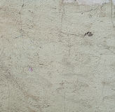 Texture of old rustic wall covered with gray stucco Royalty Free Stock Photography