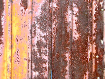Texture. Of really old rusty iron gate Royalty Free Stock Image