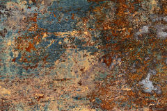 Texture of old and rusty metal Stock Image