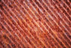 Texture of old rusty metal Royalty Free Stock Photos