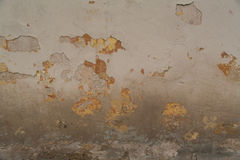 Texture of old rusty painted wall. Texture of old aged shabby painted wall background Royalty Free Stock Photo