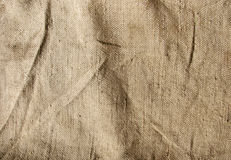 Texture of old sack. Texture of brown old sack Royalty Free Stock Image