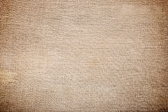 Texture of old sackcloth close up Stock Photo