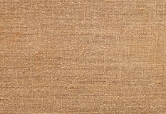 Texture of old sackcloth close up Royalty Free Stock Photo