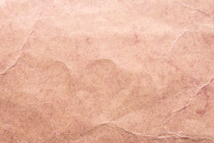 Texture of old shabby and crumpled paper, vintage style, abstract background Royalty Free Stock Image