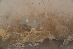 Texture of old shabby painted wall. Texture of old aged shabby painted wall background Stock Photography