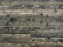 Texture of old shabby wooden floor retro royalty free stock image