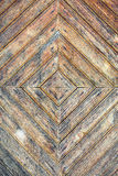 Texture of old stained wooden door Royalty Free Stock Images