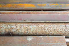 Old steel Stock Photography