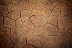 Texture of old stone pavement Stock Photo
