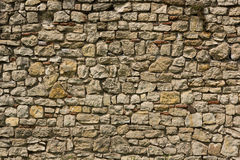 Texture of the old stone wall Stock Photography