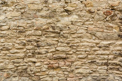 Texture of the old stone wall Royalty Free Stock Photo