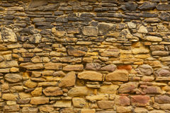Texture of the old stone wall Stock Image