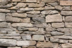 Texture of old stone wall Stock Photos