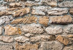 Texture of old stone wall. Old textured Stock Image