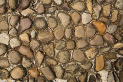 Texture of old stones Royalty Free Stock Photography