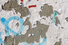 Texture of old stucco wall Royalty Free Stock Photos