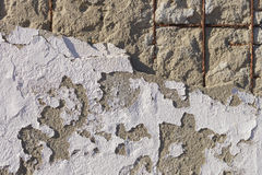 Texture of old stucco wall Stock Images