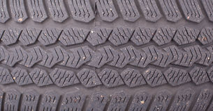 Texture of an old tire Stock Photography
