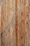 Texture of an old tree. From thin boards Stock Image