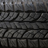 Texture old truck tire Royalty Free Stock Images