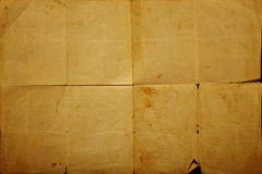 Texture old vintage yellowed paper Stock Photos