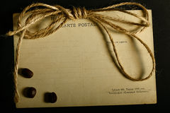 Texture old vintage yellowed paper, writing papers Royalty Free Stock Photography
