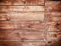 Texture of an old wall. Old wood texture in forest Stock Image