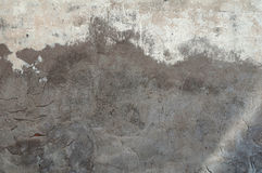 Texture of old wall with cement patches Stock Photography