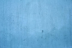 Texture of old wall covered with blue stucco Royalty Free Stock Photo