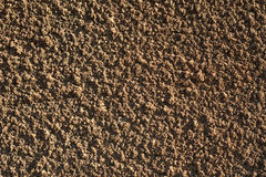 Texture of old wall covered with brown stucco Stock Photography