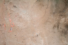 Texture of old wall covered with brown stucco Royalty Free Stock Photo