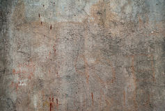 Texture of old wall covered with gray stucco Royalty Free Stock Photos