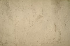 Texture of old wall covered with gray stucco Royalty Free Stock Photo