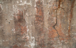 Texture of old wall covered with gray stucco Royalty Free Stock Photography