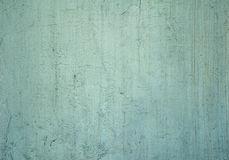 Texture of old wall covered with green stucco Royalty Free Stock Image