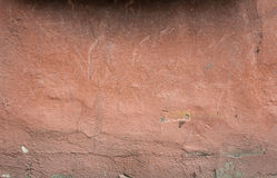 Texture of old wall covered with pink stucco Royalty Free Stock Photo